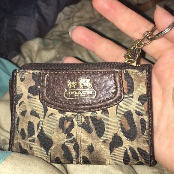 Coach Handbags - Coach keychain wallet